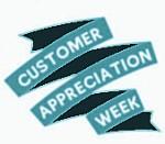 Customer Appreciation Week2013